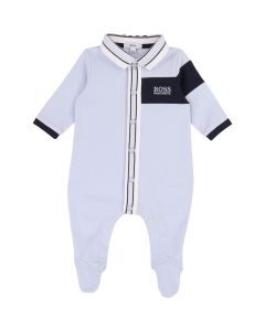 Hugo Boss Boys Pale Trim Sleeper Size 3M-12M | J97148 Blue