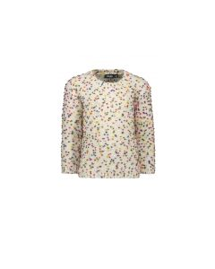 Like Flo Girls Dotted Sweater Size 6-14 | F908 5320 White
