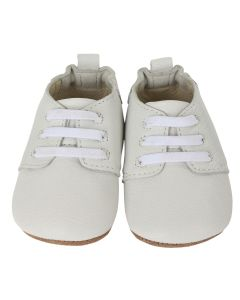 Robeez Boys Oxford Shoes Size 3m-9m | R7074120 White