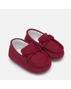 Mayoral Boys Moccasin Shoe Size 16-18 | 9206 051 Burgundy