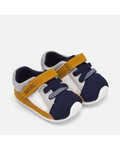 Mayoral Boys Mustard Trainer Size 16-18 | 9211 081 Multi