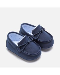 Mayoral Boys Moccasin Shoe Size 15-19 | 9206 048 Navy