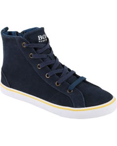 NAVY HIGH TOP SHOES