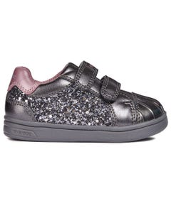 DARK GREY GLITTER SHOE