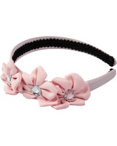 FLOWER & RHINESTONE HEADBAND