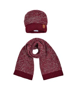 RED HAT & SCARF SET