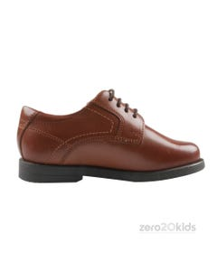COGNAC MIDTOWN LACE SHOES