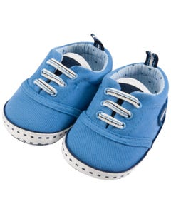 Mayoral Boys Twill Shoes   Infant Shoes 9748-075 Blue