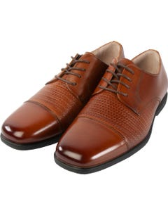 COGNAC DRESS SHOES