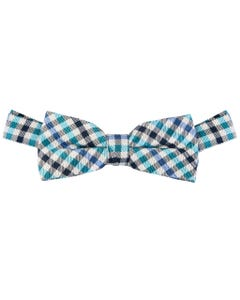 SILK PLAID BOWTIE