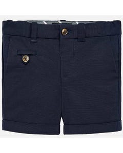 NAVY SHORTS & BELT