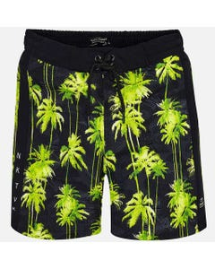 BLACK SWIM TRUNKS