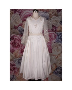 451 DRESS EMBROIDERED TULLE &