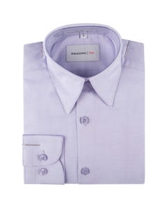 SHIRT LILAC THIN STRIPES TONE ON TONE