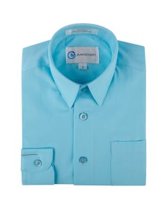 SHIRT AQUAMARINE MC555-562 LONG SLEEVE COTTON