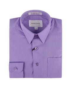 SHIRT LIGHT PURPLE MC555-562-LONG SLEEVE COTTON