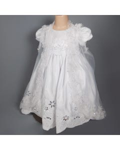 3PC CHRISTENING GOWN