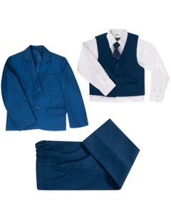 NAVY 5PC SUIT