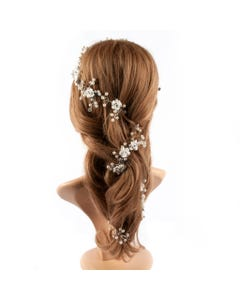 HEADBAND OPAQUE FLOWER