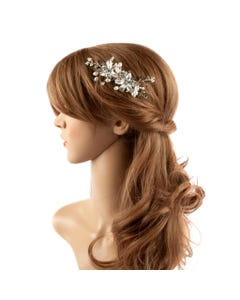 HAIRCOMB PEARL & 2 FLOWERS